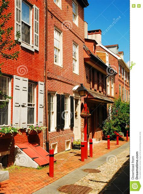 oldest street in philly elfreth s alley the oldest street in america editorial
