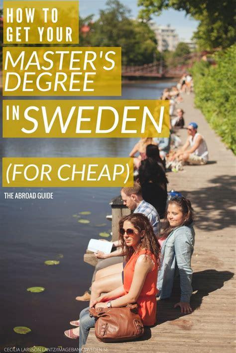 Free Mba Programs In Sweden by Best 25 Master Degree Programs Ideas On