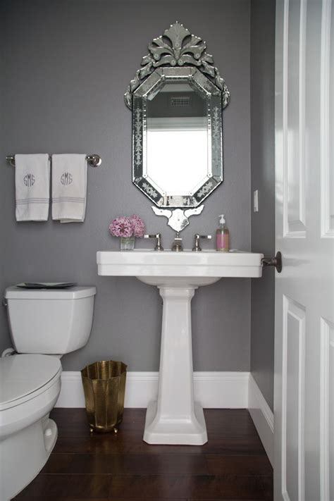 how to decorate a gray bathroom best 25 powder room paint ideas on neutral