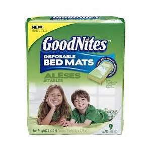 goodnites disposable bed mats goodnites disposable bed mats reviews in training pants