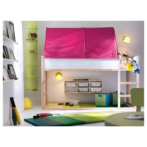 three in the middle childrens bed tent kura bed tent pink ikea
