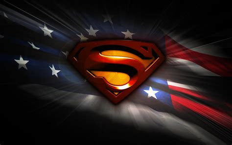 superman logo man of steel wallpaper