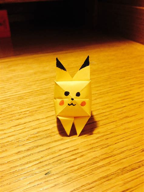how to make an origami pikachu step by step origami go origami pikachu tutorial henry