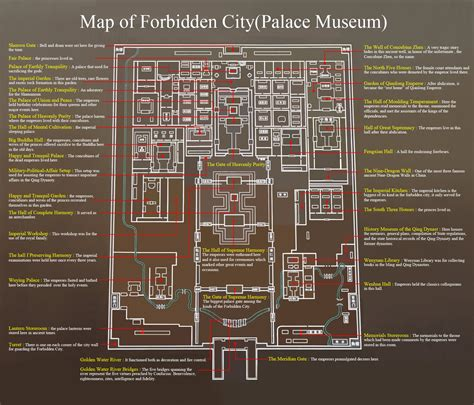 Floor Plans With Hidden Rooms Forbidden City