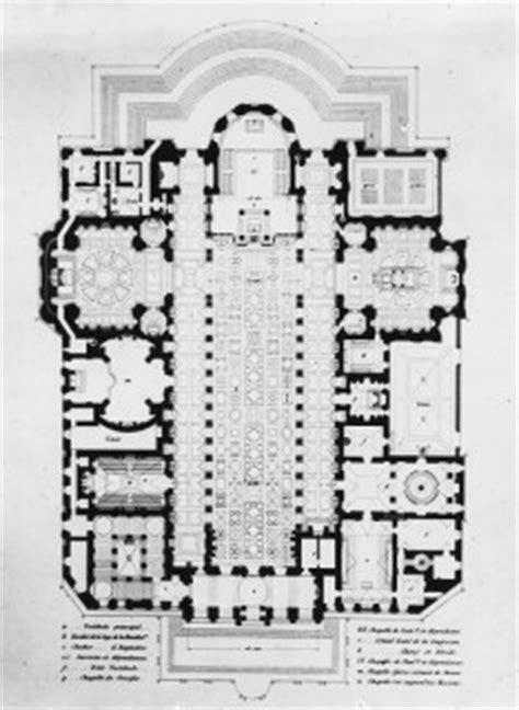 floor plan of the basilica di santa maria maggiore rome a a plans drawings santa maria maggiore