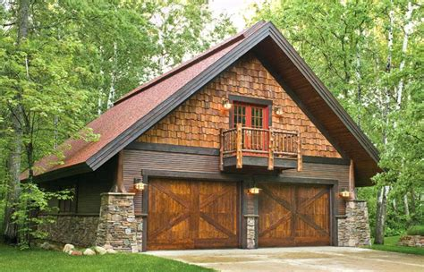 Log Cabin Living Uk by An Log Cabin With Attached One Car Garage And A