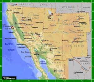 west america map image gallery west america