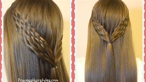 Pull Back Hairstyles by Woven Braid Pull Back Hairstyle