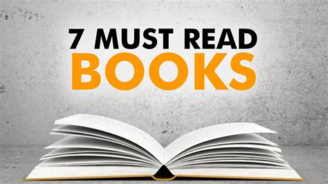 7 Must Read Lit Novels by The 7 Books Every Entrepreneur Must Read