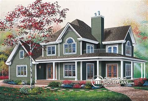 Veranda Of A House by Plan Of The Week Quot Wraparound Veranda For Summer
