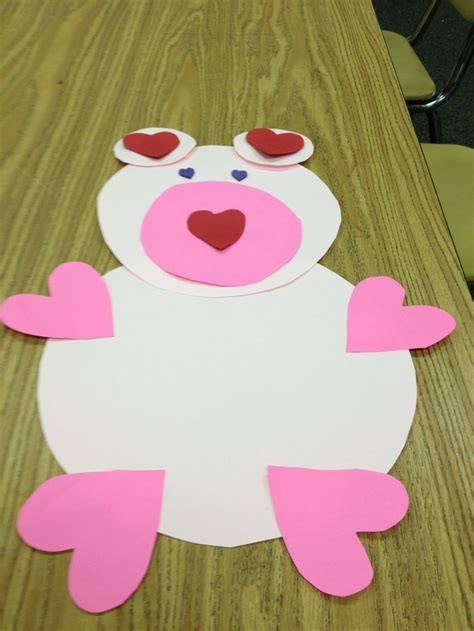 teddy crafts for teddy template crafts
