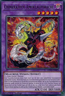 maschinen deck yugioh chimeratech amoklaufdrache legendary decks