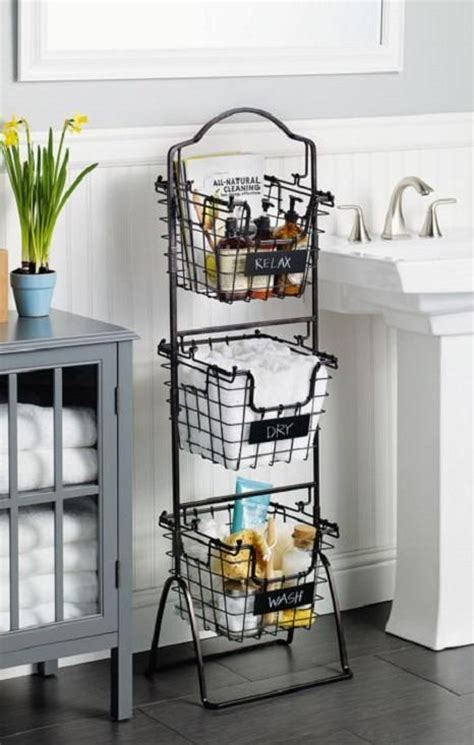 bathroom storage with baskets best 25 basket bathroom storage ideas on