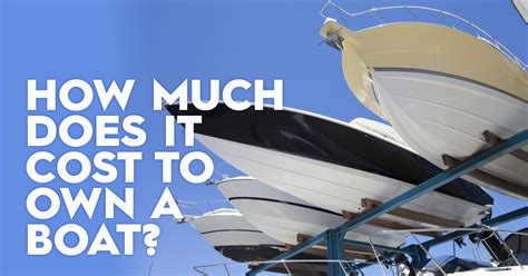 what does boat insurance cost how much how does it cost to own a boat bluehq