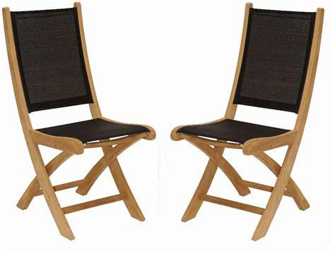 chaise de jardin en bois et tissu