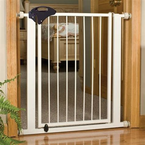 extra tall dog gates for the house four paws four paws metal safety gate walk thru pet gate