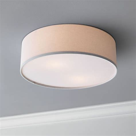 drum flush mount l bedroom lighting ceiling lights