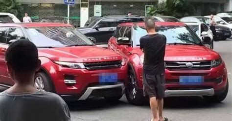land rover chinese this chinese range rover evoque copycat crashed