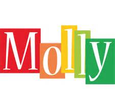 molly color molly logo name logo generator smoothie summer