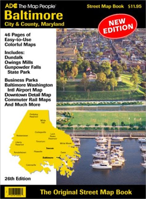 maryland map book cheapest copy of baltimore city county maryland