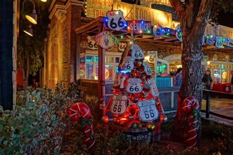 Decorations At Disneyland by Cars Land Disneyland Decorations