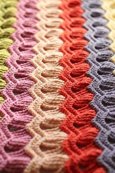 crochet wave ripple pattern stitch knitting bee 1000 ideas about ripple crochet patterns on pinterest