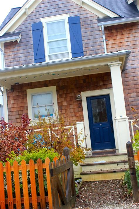 blue exterior wood paint blue colour of the features goes well with wood