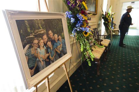 funeral held for slain family of six