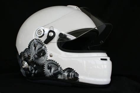 Helm Bekleben Aufkleber by Helmdesign Irace Design