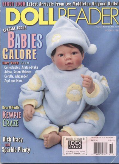 doll reader magazine doll reader doll collector magazine october 2001