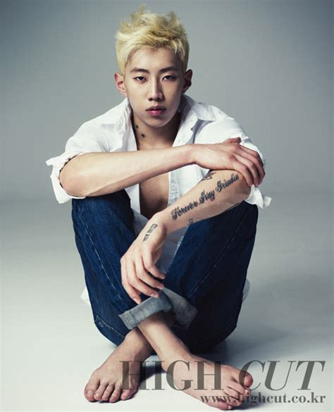 jay park shows off his new hair and tattoo allkpop com
