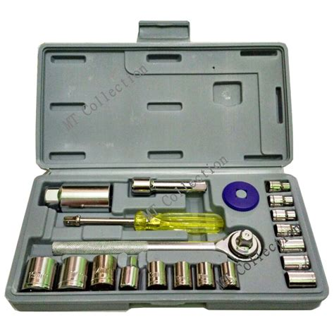 C Mart Kunci L Set 9 Pcs 1 5 10mm aka r 021s kunci shock wrench set 21 pcs serbaguna