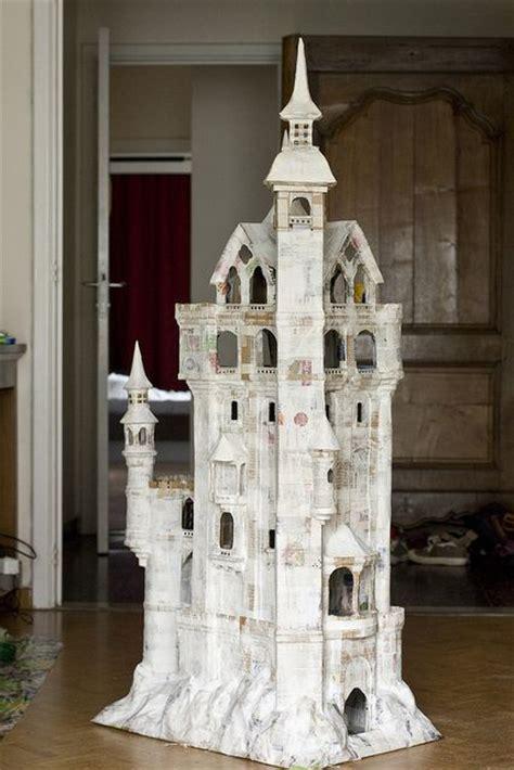 How To Make A Paper Mache Castle - papier mach 233 castle papier mach 233