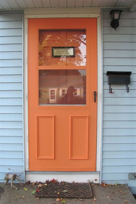 Painting Metal Door by Paint The Doors For The Home