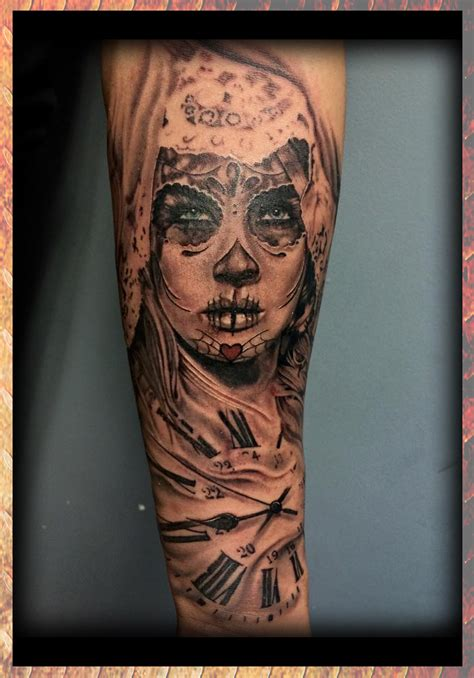 day of the dead girl tattoos matt allsman