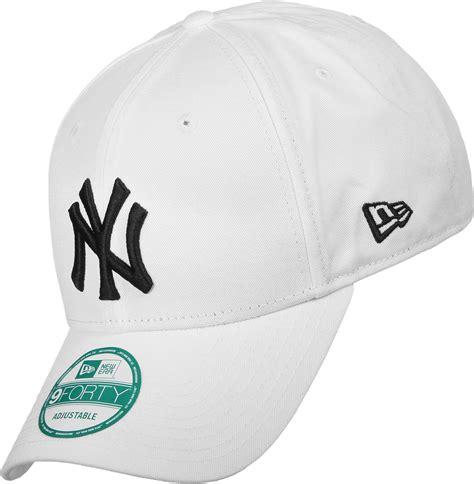 New Era Elgrand White Black new era 9forty league basic ny yankees snapback white