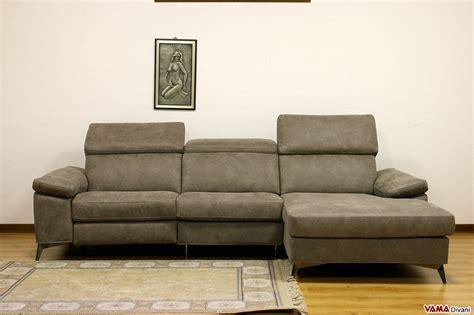 divano tre posti divano 3 posti con chaise longue e relax elettrico