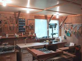 Pawn Shop Winter Garden - my old woodworking workshop