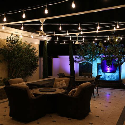 Bakersfield S Top Outdoor Lighting Company The Light Guys Italian String Lighting