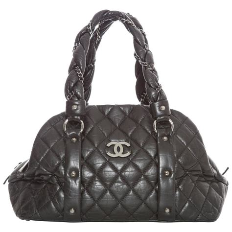 Winter 2006 To 2007 Designer Bag Collection chanel braid bowler bag autumn winter 2006 for