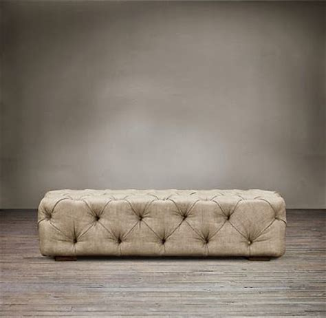 restoration hardware tufted ottoman restoration hardware look alikes restoration hardware