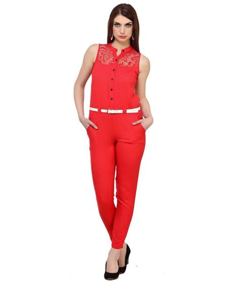 Jumpsuit Katun Rayon Buy Cottinfab Rayon Jumpsuit At Best Prices In