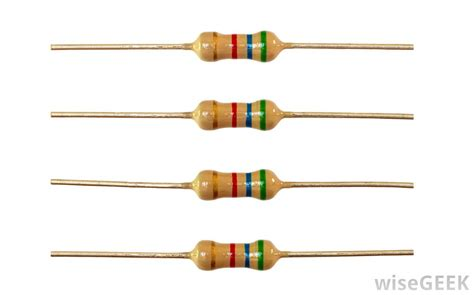what do resistors look like what is a fixed resistor with pictures
