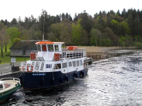ashford castle boat trip the isle of inisfree at ashford castle picture of