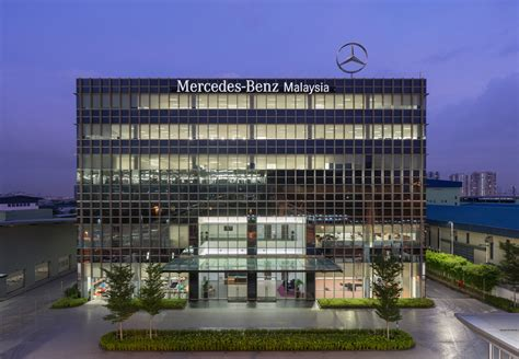 mercedes headquarters mercedes malaysia officially launches