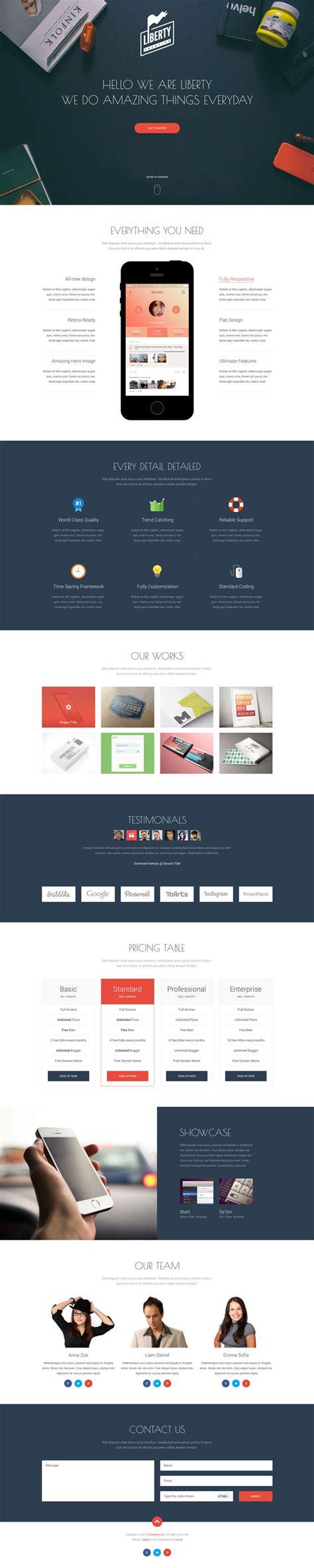 55 incredible parallax single page website templates wpfreeware