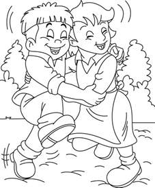 friends coloring pages friendship day coloring pages coloring pages