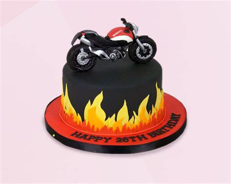 Bike Chocolate Fondant cake delivery
