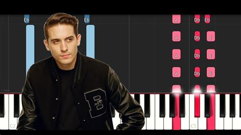 charlie puth instrumental mp3 download g eazy ft charlie puth sober piano tutorial