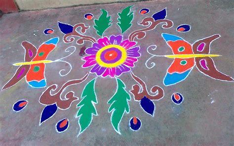 Design Rangoli Free Hand | free hand rangoli designs amita is here